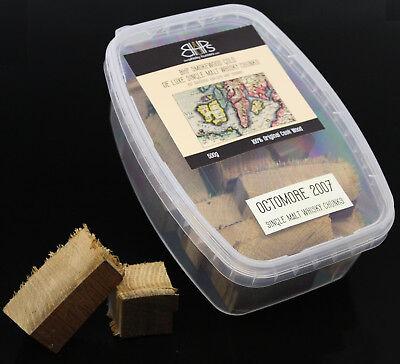 BHP Smokewood Gold Chunks - Octomore 2007, Whisky Chunks 500 g
