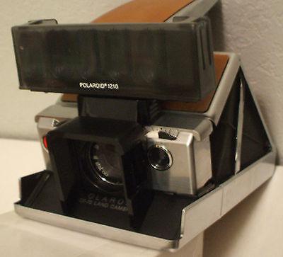 Polaroid Instant SX-70 Close-Up Lens, Accessory Holder, Shade &Flashbar Diffuser