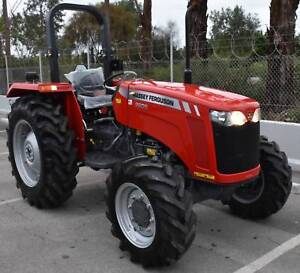 MASSEY FERGUSON 2605 4WD WITH BONUS STANDARD LOADER Aldinga Beach Morphett Vale Area Preview