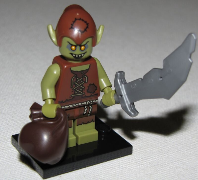 LEGO NEW SERIES 13 71008 MINIFIGURES ALL 16 AVAILABLE YOU PICK YOUR FIGURES  Goblin Lord of the Rings