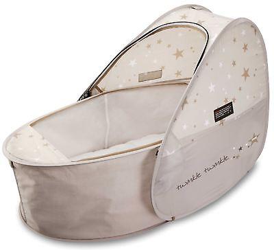 Koo-di SUN & SLEEP POP-UP TRAVEL BASSINET COT Baby/Child Sleeping Accessory BNIB