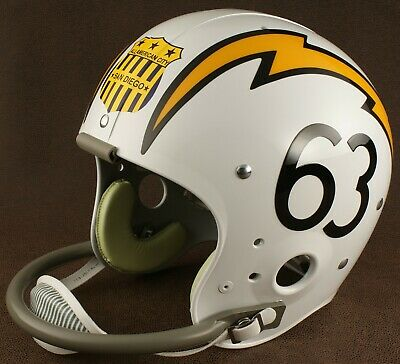 SAN DIEGO CHARGERS 1963-1964 NFL Authentic THROWBACK Football Helmet