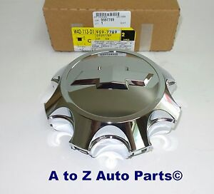 NEW 2011-2016 Chevy Silverado 2500-3500 8-Lug Alloy Wheel Chrome Center Cap,OEM