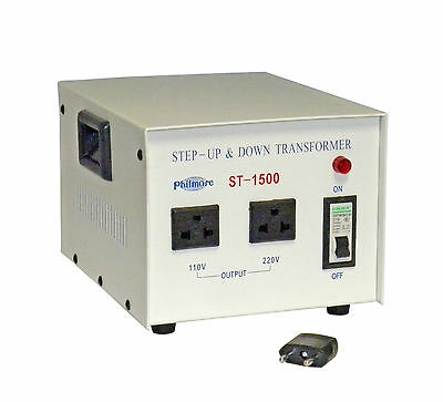 New Philmore St1500 1500 Watt 110220 Volt Step Up Or Step Down Transformer
