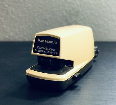 Panasonic Commercial Electric Stapler Model As-300n Tested Working