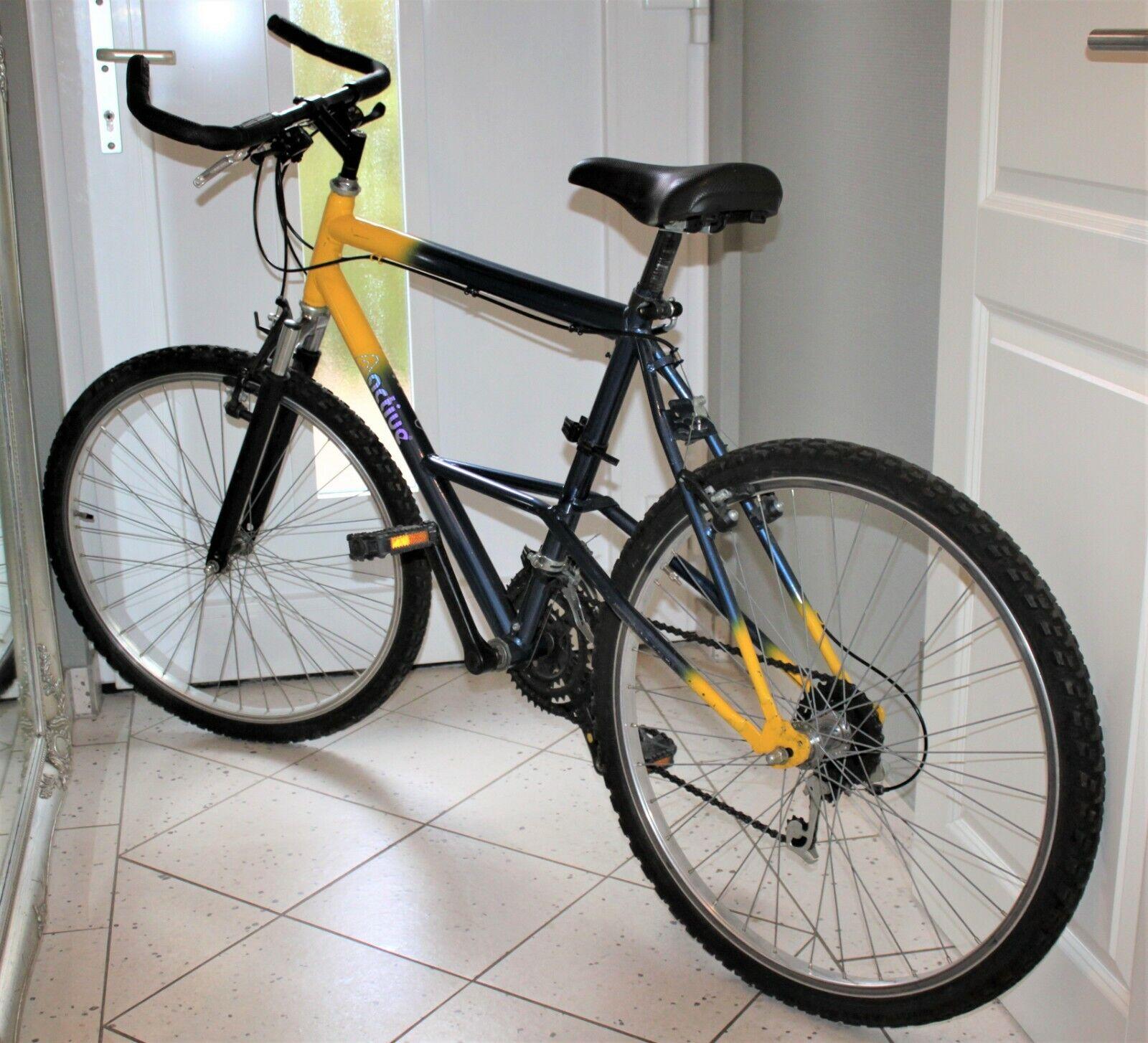 ACTIV Alu 26 Zoll Bike MTB Mountainbike Fahrrad Rad - Gangschaltung klemmt -