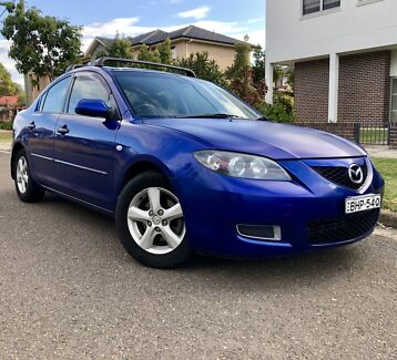 2008 Mazda3 Maxx 5 Speed Manual Sedan 4months Rego Low Kms Liverpool Liverpool Area Preview