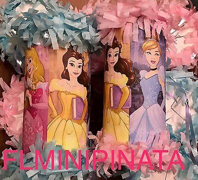 Mini Pinata Party Favors - Disney Princess Shopkins Elmo Paw Patrol Frozen ](Princess Party Pinata)