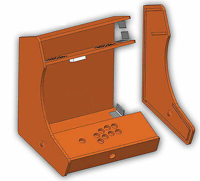 Arcade Bartop Mame Videospielautomat Arcade Bartop Bausatz DIY Kit