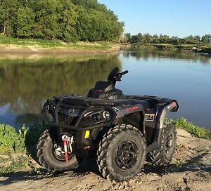 !!! PRICED TO SELL!!! 2015 Can-am 650 Outlander XT