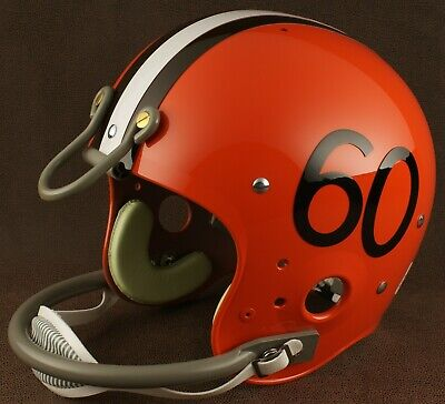 CLEVELAND BROWNS 1960 NFL Authentic THROWBACK Football Helmet 1960 Authentic Throwback Helmet