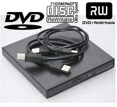 EXTERN USB DVD-RW CD-RW DVD-BRENNER BURNER FÜR WINDOWS XP 2000 WIN 7 8 10 #LW4 - Windows Xp Usb Festplatte