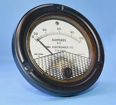 Umc Test Set Meter 0-100 Ac Amperes Ruggedized To Mil-m-10304 One Jewel
