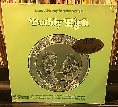 Still Sealed Lionel Hampton Presents Buddy Rich 1977 Stereo Wwlp 21006