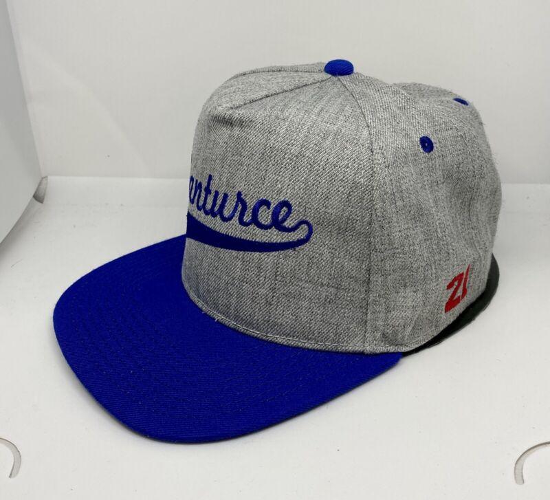Santurce 21 Roberto Clemente Puerto Rico 5 Panel SnapBack Hat Blue/grey