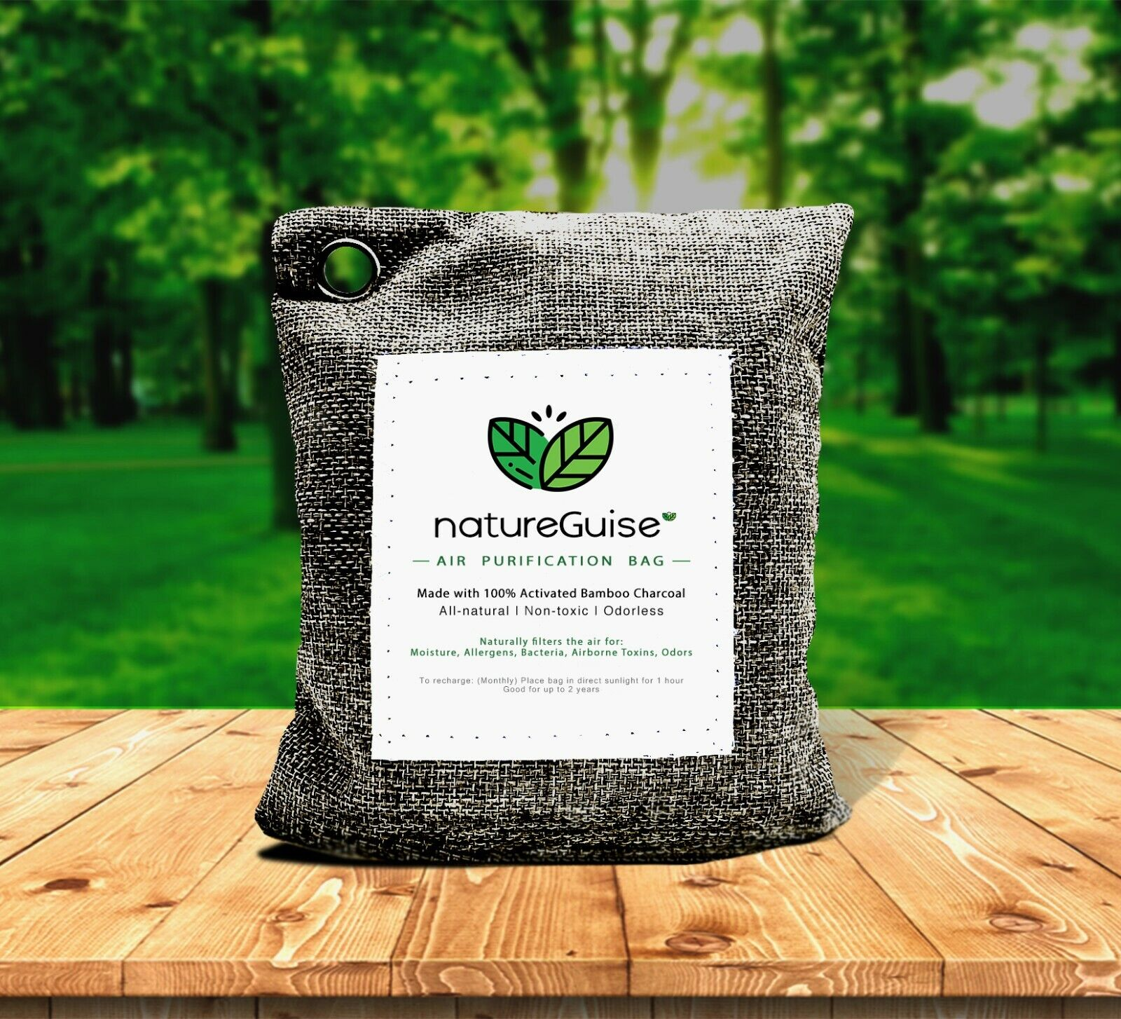 Bamboo Charcoal Air Purifying Filter Bag / Air Deodorizer Na