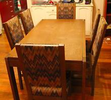 Solid Oak Dining table and 6 chairs Newtown Inner Sydney Preview