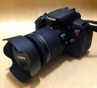 Canon EOS Rebel T5i EF-S 18-55MM LENS DSLR Digital Camera (3 LENSES Bundle) ()