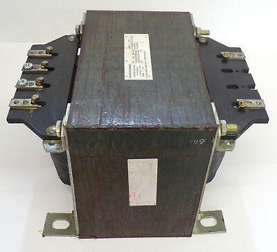 UNKNOWN BRAND INDUSTRIAL CONTROL TRANSFORMER 9070EO81Q29639, 50/60HZ, 1.3/1.5KVA
