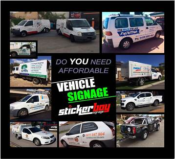 STICKERBOY SIGNAGE: Signs, Stickers, Vehicle Signage & more...