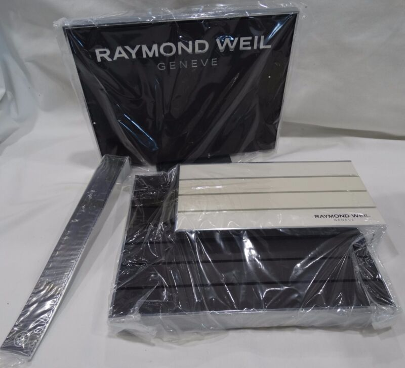 RAYMONG WEIL GENEVE COUNTERTOP DISPLAY AND WATCH STAND