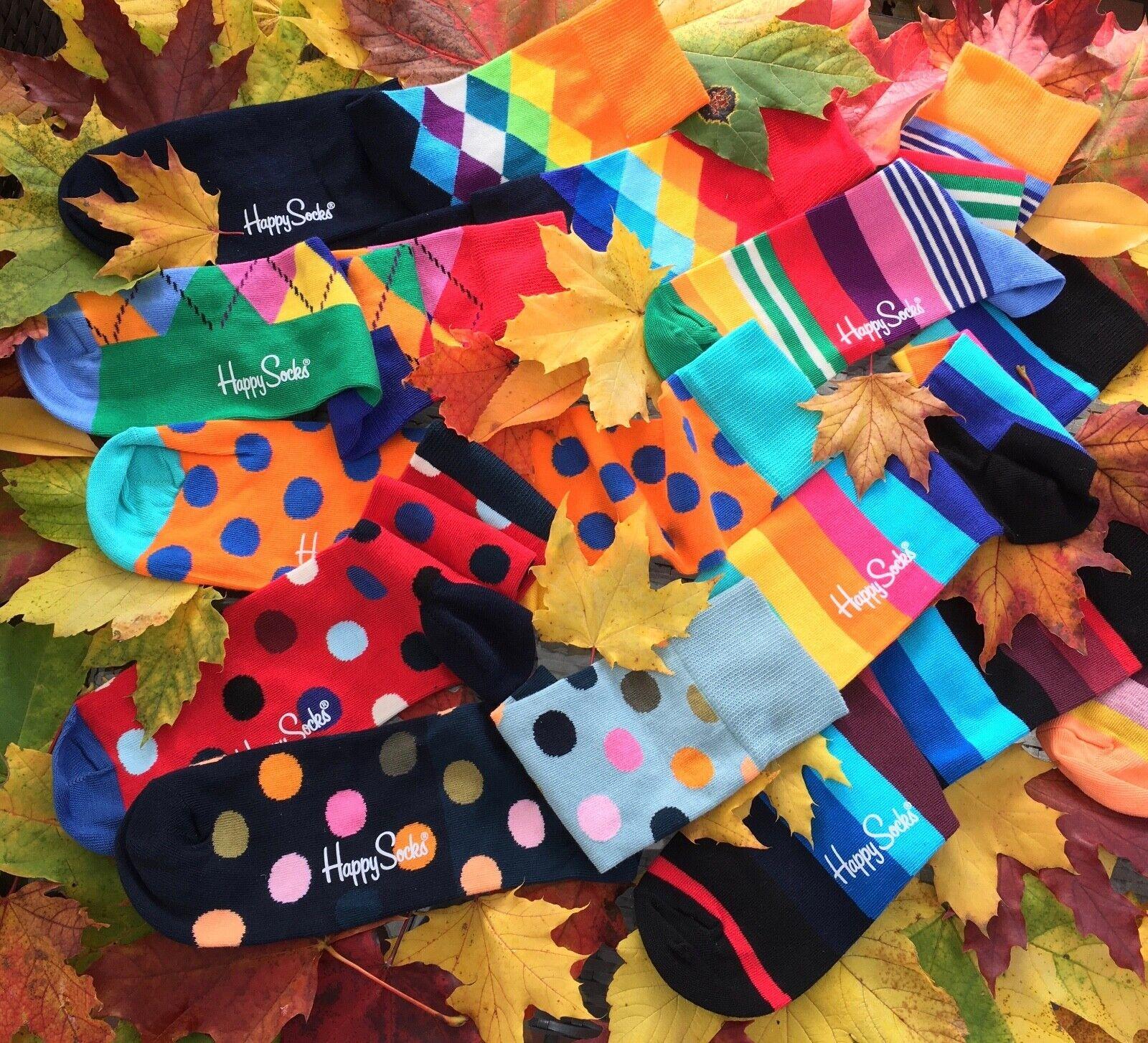 Happy Socks coole bunte Trend Socken mit witzigen Mustern + Designs 41 - 46 Neu