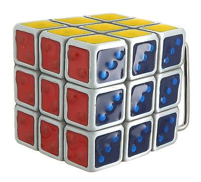 Novelty Retro Puzzle Cube Game Bottle Opener Keyring 80s 3D magic cube NEW