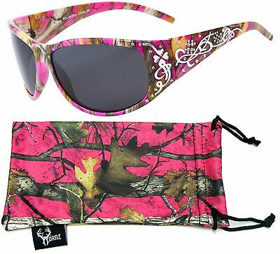 Hornz Wholesale Pink Camouflage Polarized Sunglasses HZ98013-16 Lots of 6-12