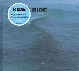 RIDE Nowhere & Town And Country Club '91 2015 UK deluxe CD + DVD set NEW/SEALED