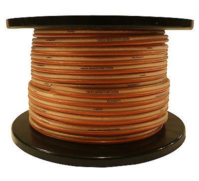 Caliber 12ga : 400ft (2 X 200ft 12 Ga Ea) Cable Spool Qua...