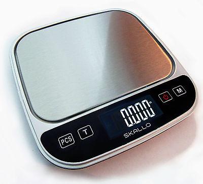 Skallo 0.1Gram Precision Jewelry Electronic Digital Weight Pocket Scale 3000g