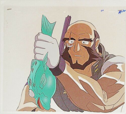 COWBOY BEBOP JET ANIME PRODUCTION CEL 11