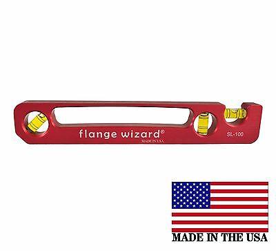 Flange Wizard Sl-100 Standard Pocket Level 9 Long X 1-12 Wide Magnetic