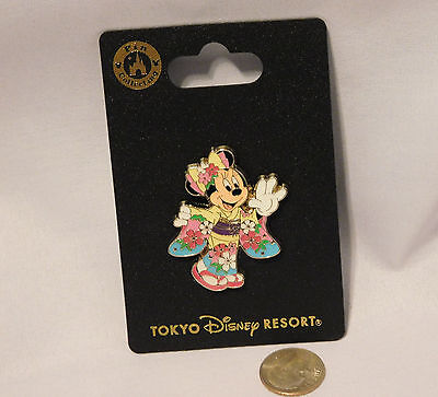 Tokyo Disney Resort New Year Party 2016 Minnie wearing Kimono pin
