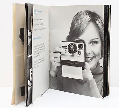 Polaroid Pronto! B Instant Film Camera Manual Guide Instructions English 1970s