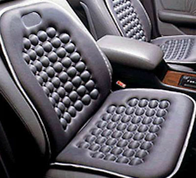 Black Seat Cushion Magnetic Therapy Driver Massage Cars SUV Trucks- Set of - Therapy Seat