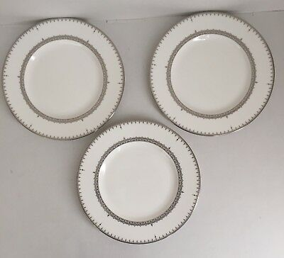 Set of 3 Lenox USA Lace Couture 9 3/8