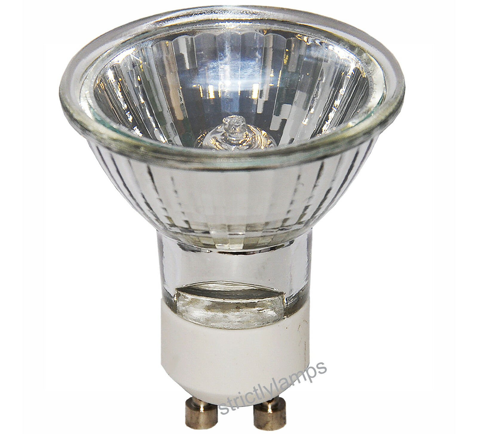 10 Pack Long Life Lamp Co Gu10 Halogen 35w Light Bulbs Long Life Gu10 Lamp New Ebay