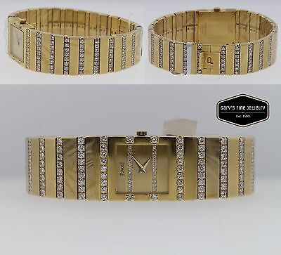 Piaget Polo 8131-C701 18K Gold and Diamond Quartz Women's 20mm Watch