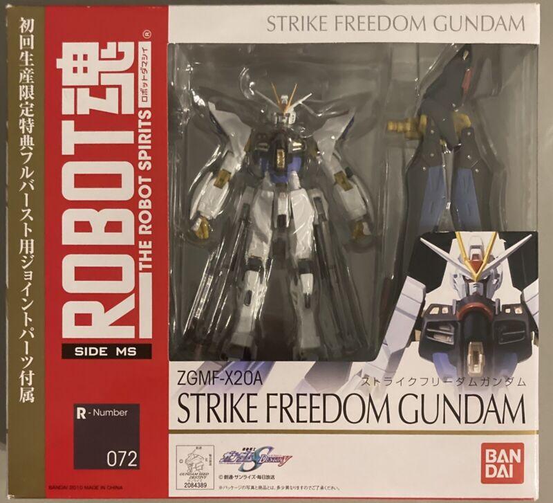 Bandai Robot Spirits Damashii Mobile Suit Gundam Strike Freedom Action Figure