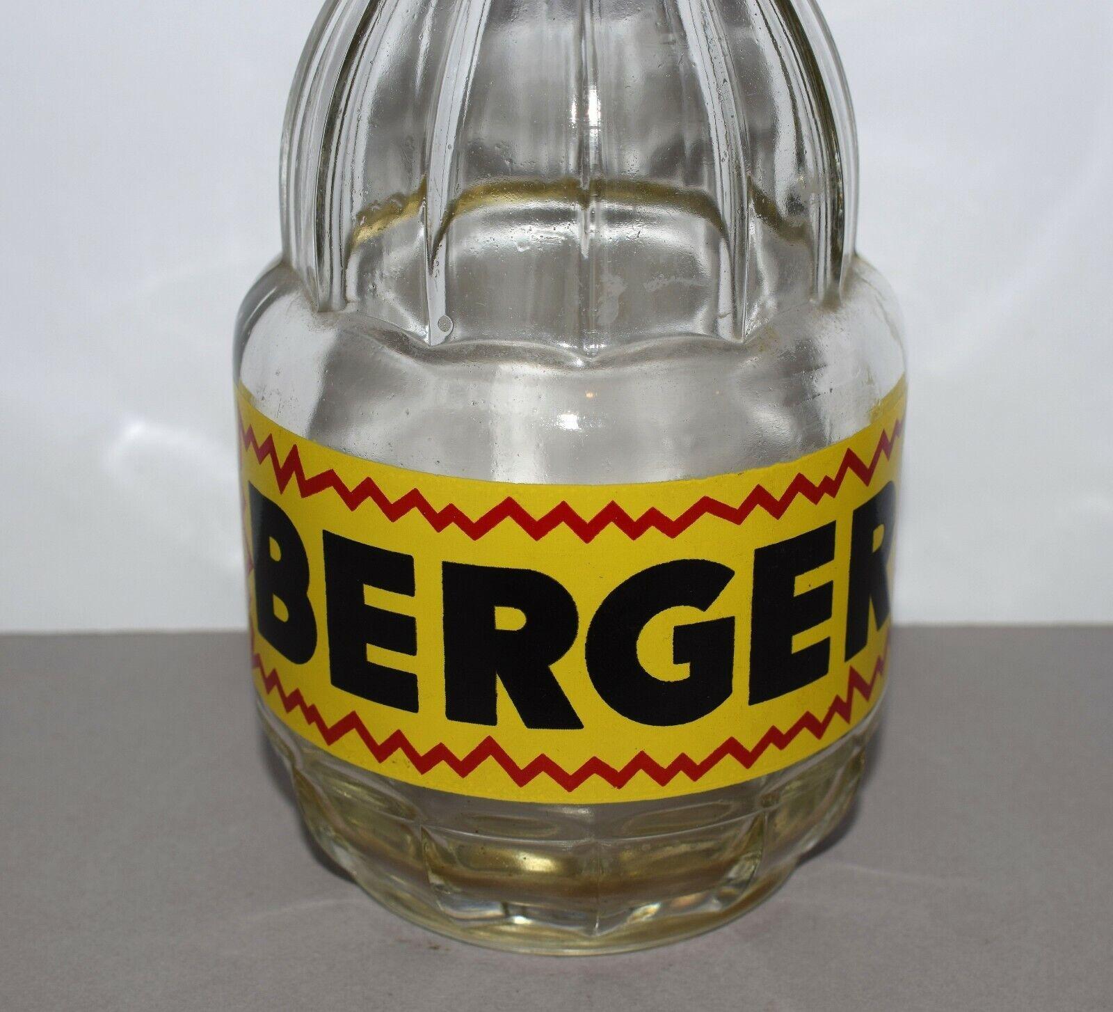 Carafe publicitaire en verre berger - objet bistrot