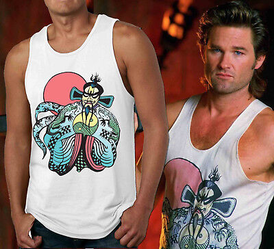 Fu Manchu Tank Top Big Trouble in Little China Jack Burton Halloween - Jack Jack Halloween Costume