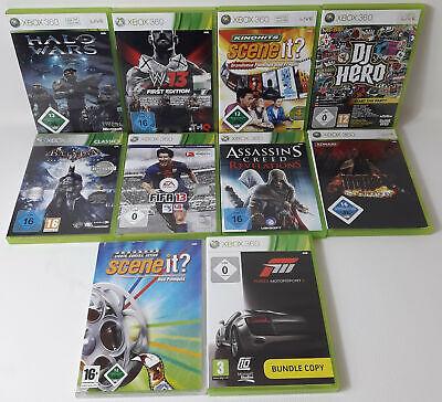 Spiele Sammlung |Paket Xbox 360 10 Spiele Fifa Halo Wars