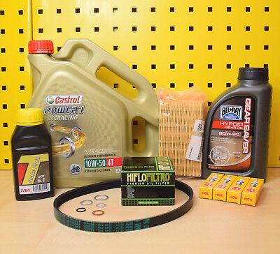 BMW R1200 ST Öl Ölfilter Luftfilter Getriebeöl Zündkerzen Keilrippenriemen Dot Keil