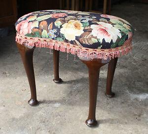 Antique-Edwardian-mahogany-kidney-shaped-dressing-table-stool-1910