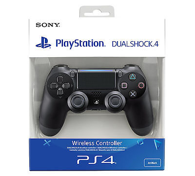 SONY CONTROLLER DUALSHOCK V2 PS4 PLAYSTATION 4 NUOVO NERO WIRELESS