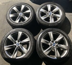 "18"" BBW 6 Spoke Gunmetal Wheels W KUMHO summers 5x114.3"