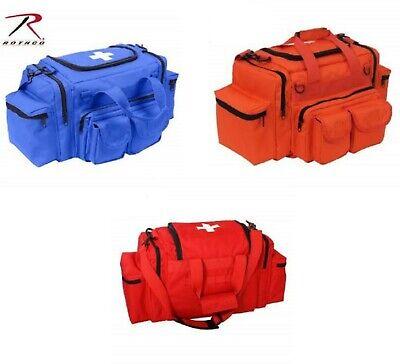 RED BLUE ORANGE EMT PARAMEDIC FIRST RESPONDER Aid Emergency Medical Carry Bag  ()