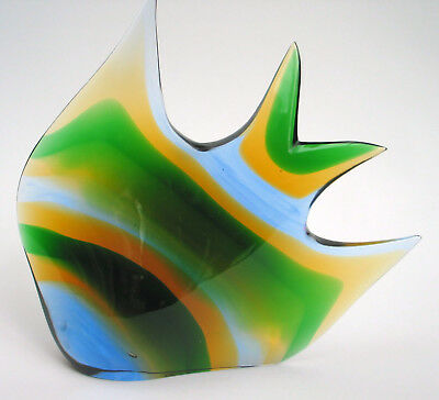 Exbor glassworks  Fisch,   Czech Glass Design Honzik, Rosinek