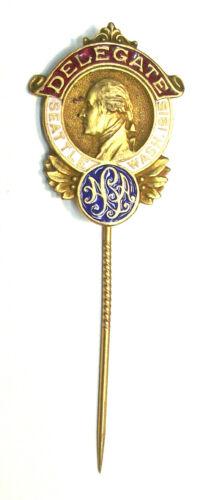 1915 WASHINGTON - DELEGATE CONVENTION PIN, SEATTLE WA (LOT 124D) UNKOWN CONVENTI